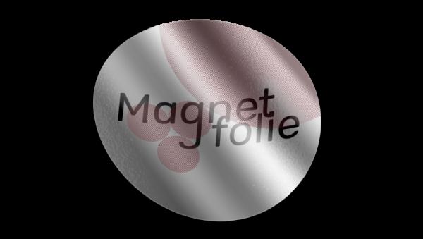 Aufkleber Magnetfolie
